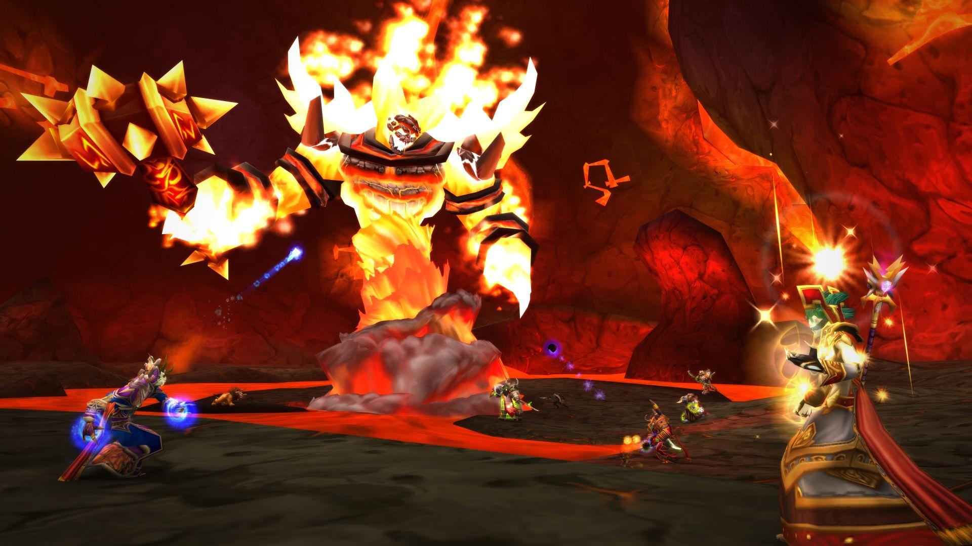 Người chơi WoW Classic đang tạo thành một đường thẳng gọn gàng để tiêu diệt quái vật