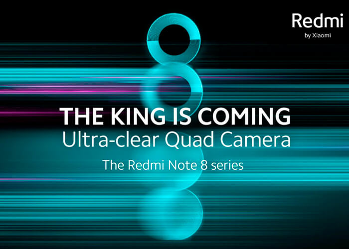 Redmi Note 8    sẽ được trình bày trên toàn thế giới sớm