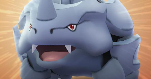 Rhyhorn là người chiến thắng trong Ngày cộng đồng. Pokemon Đi tháng hai!