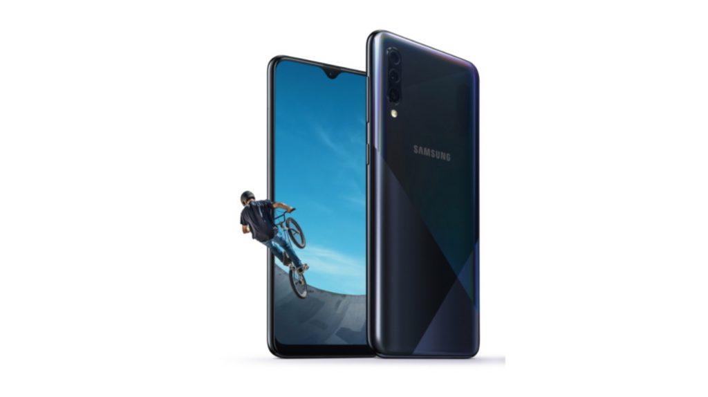 Samsung đã công bố Galaxy A30s, camera sau Ba tính năng