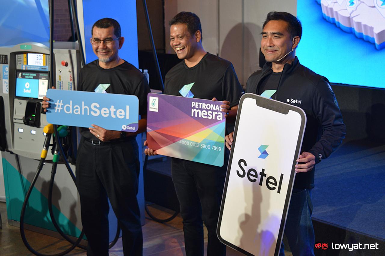 Setel đang mở rộng trên cả nước; Hiện có sẵn tại hơn 700 trạm Petronas 2