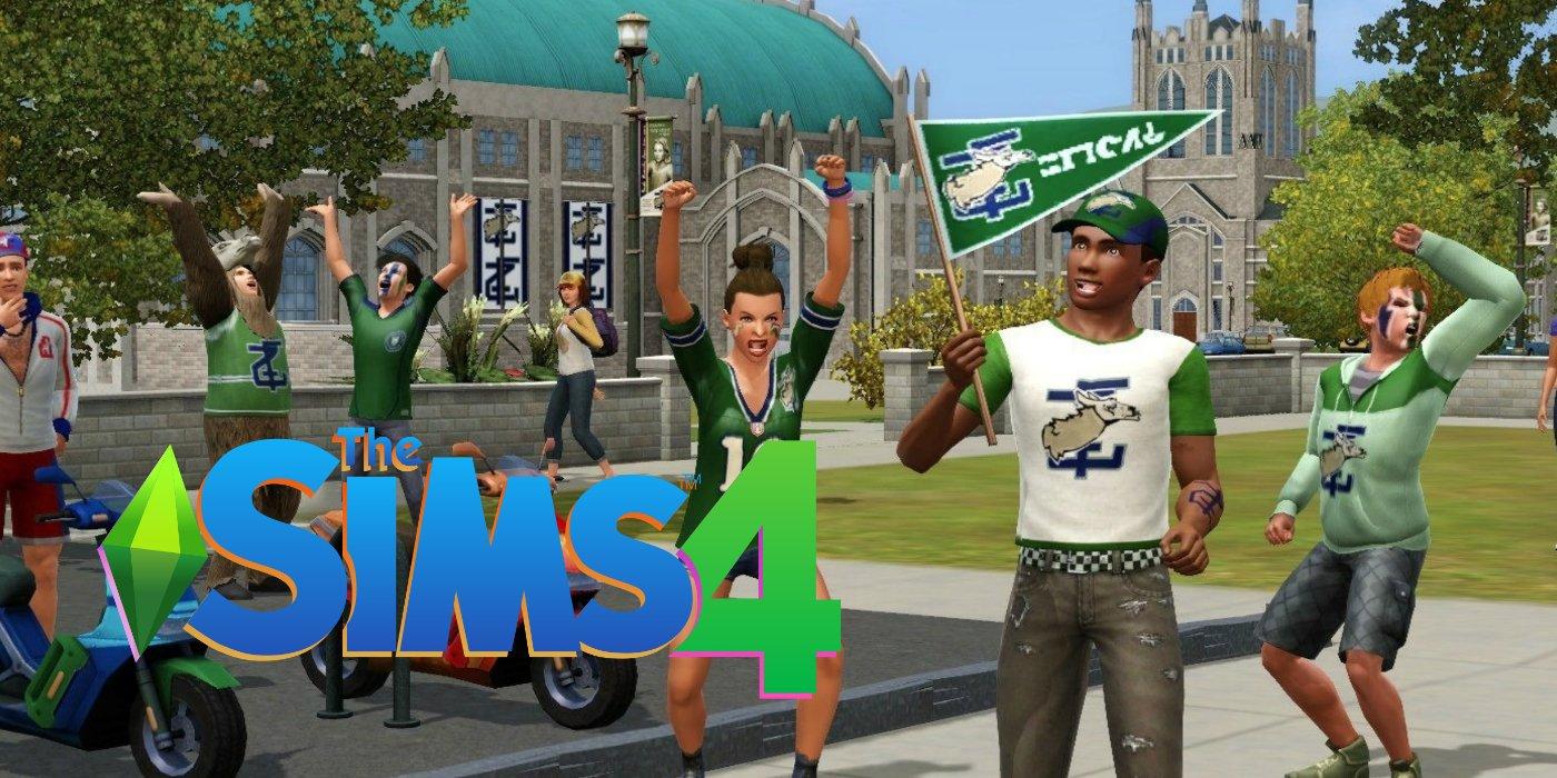 Sims 4 Mở rộng cuộc sống đại học thông tin