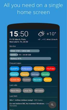 Trình khởi chạy AIO 2.7.47 Apk cao cấp cho Android 6