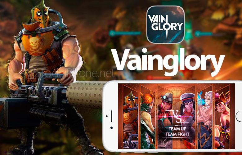 VainGlory có sẵn cho iPhone và iPad, trò chơi được trình bày cùng với ...