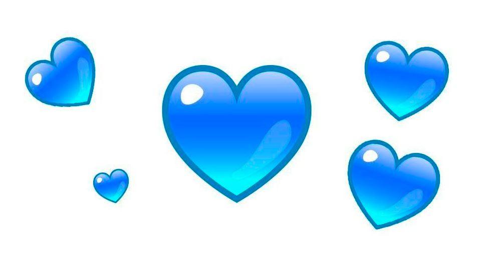WhatsApp: biểu tượng cảm xúc trái tim màu xanh rất tuyệt để sử dụng khi tình yêu kết thúc