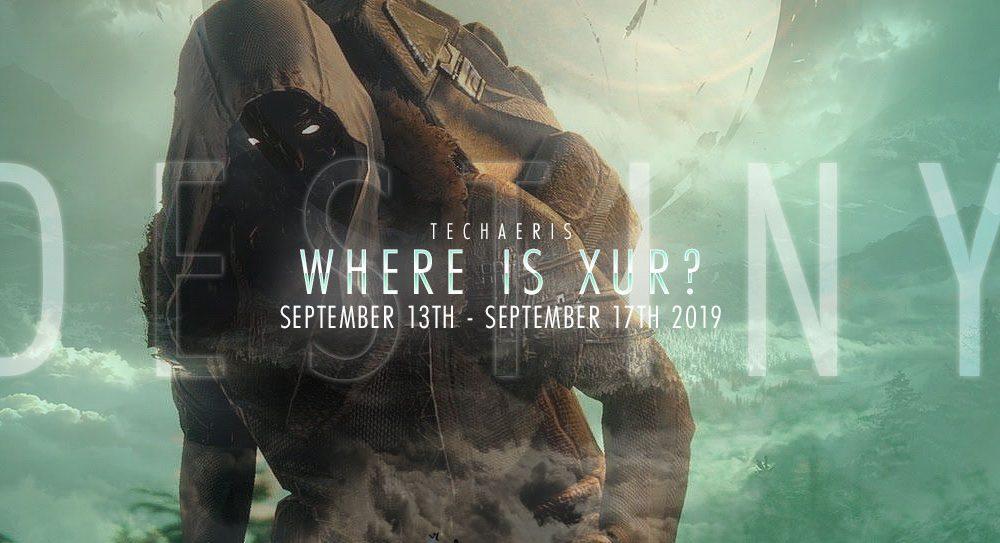 Xur ở đâu và anh ấy bán gì? Chủ nhật ngày 13 đến 17 tháng 9
