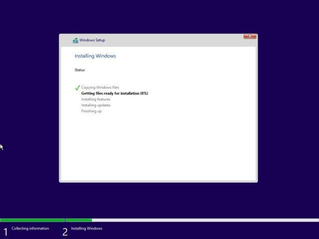 Cài đặt mới Windows 11 Từ USB có thể khởi động