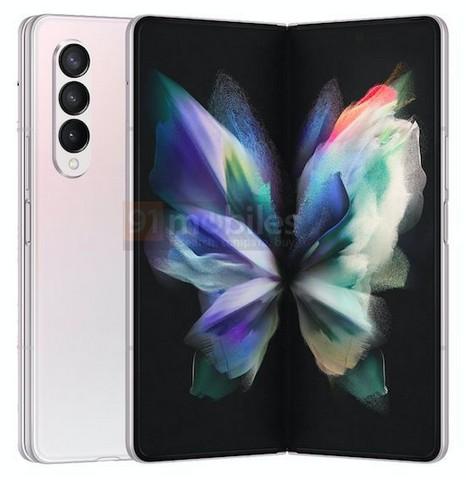 Samsung Galaxy Z Fold 3  ám ảnh