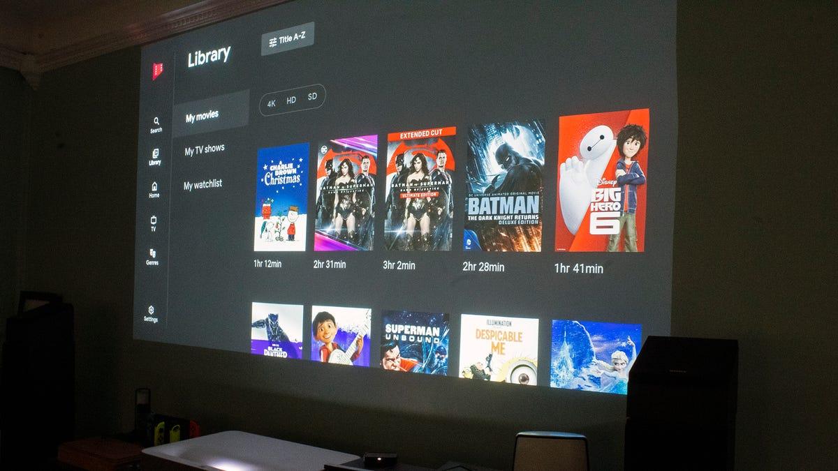 Ứng dụng Google Play Phim và TV trên Roku devce