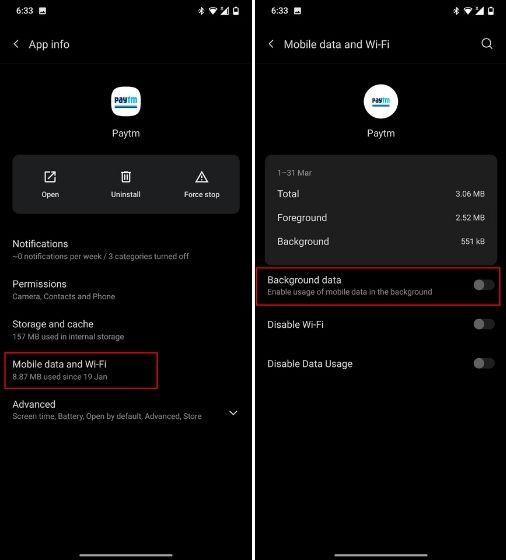Ngăn các ứng dụng Android sử dụng dữ liệu trong nền (2021)