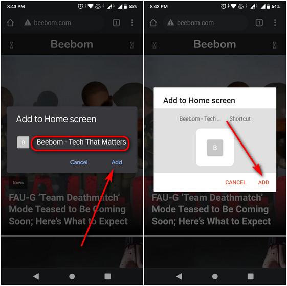 Biến bất kỳ trang web nào thành một ứng dụng Android với Google Chrome