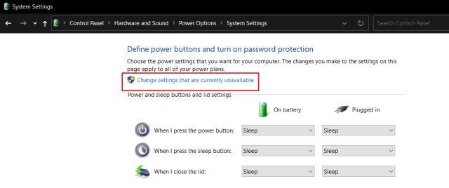 Bật Khởi động nhanh trên Windows 10 (năm 2021)