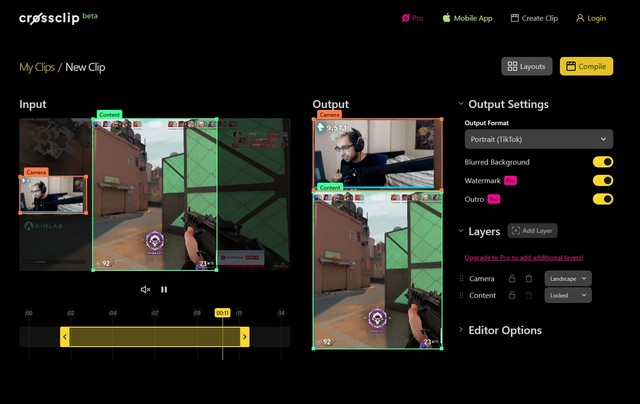 Ứng dụng này giúp chuyển đổi dễ dàng hơn Twitch Kẹp vào Instagram Reels, TikTok Videos