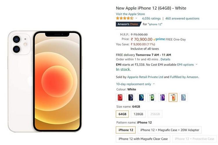 Amazon  Đang giảm giá mạnh cho iPhone 12, MacBook trước sự kiện Prime Day