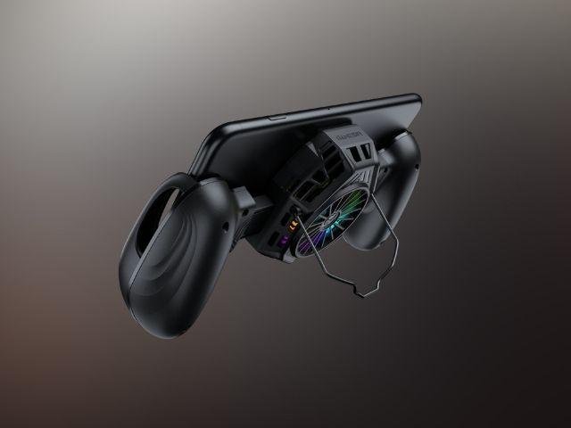 GameSir F8 Pro Snowgon là một tay cầm di động có thể đóng vai trò như một chiếc quạt làm mát