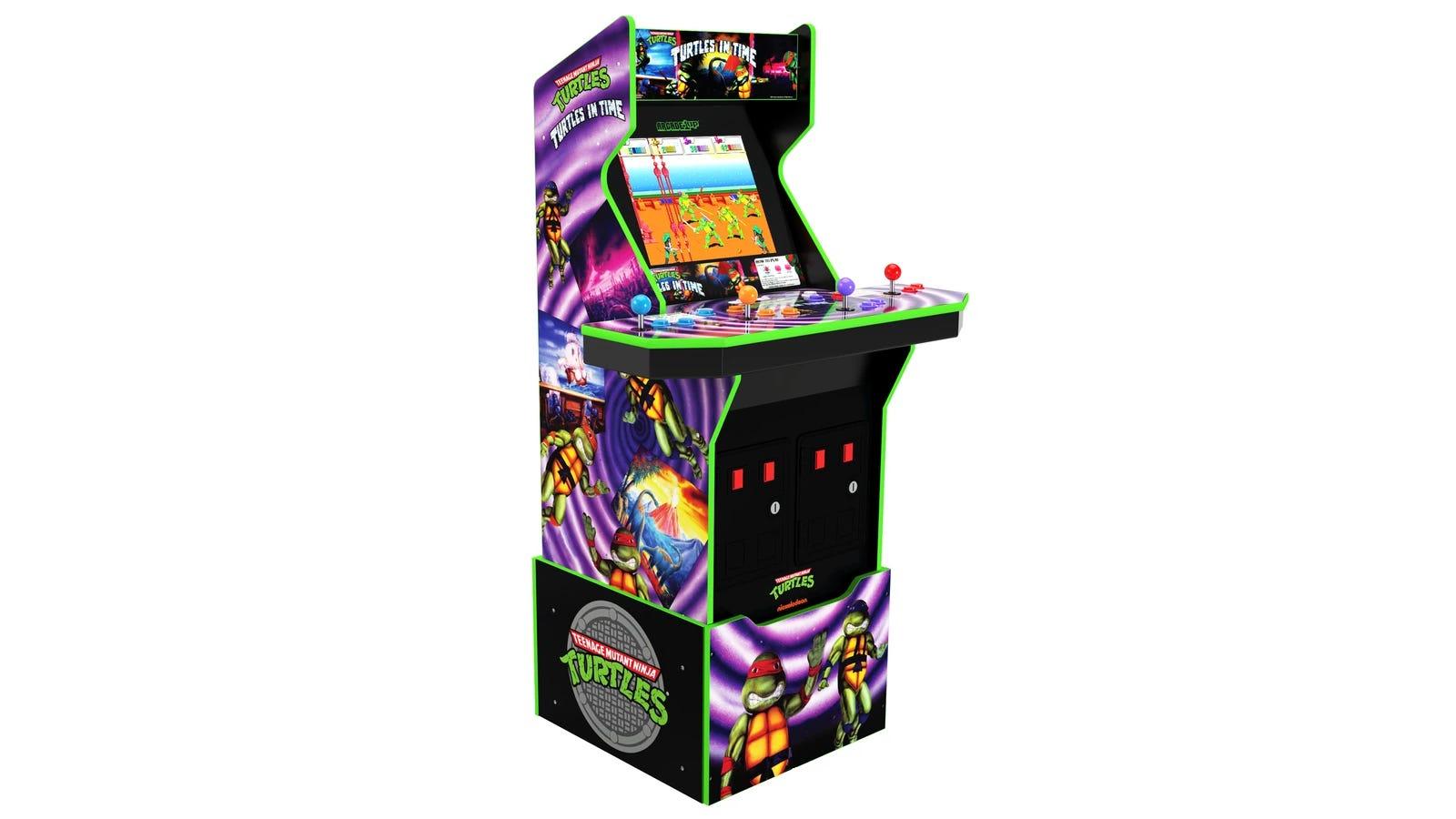 Teenage Mutant Ninja Turtles: Turtles in Time ™ Arcade Machine