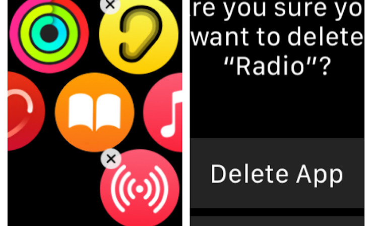 Xóa ứng dụng trên Apple Watch