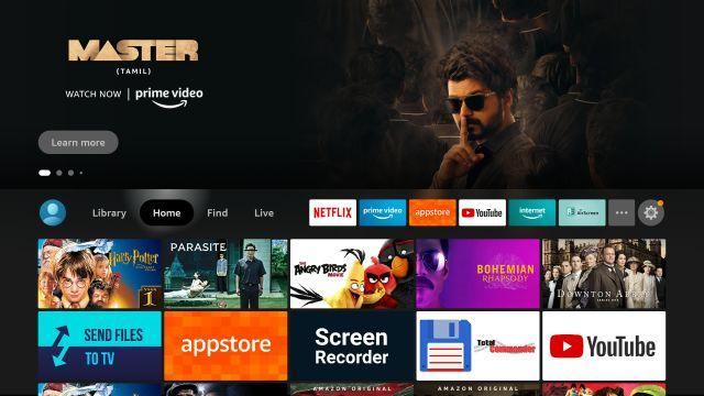 Ghi lại màn hình trên Fire TV Stick (2021)