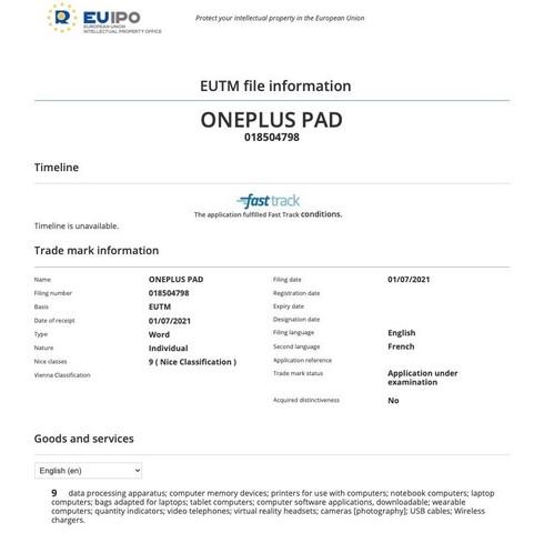 """OnePlus có thể sẽ sớm tung ra chiếc máy tính bảng đầu tiên """"OnePlus Pad"""""""