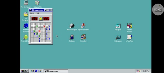 Ứng dụng này cho phép bạn chạy Windows 98 trên điện thoại thông minh của bạn
