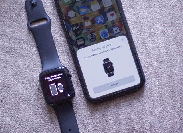 ghép đôi giữa apple-watch