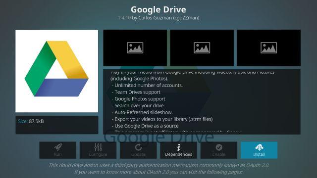 Sử dụng Google Drive trên Fire TV Stick (2021)