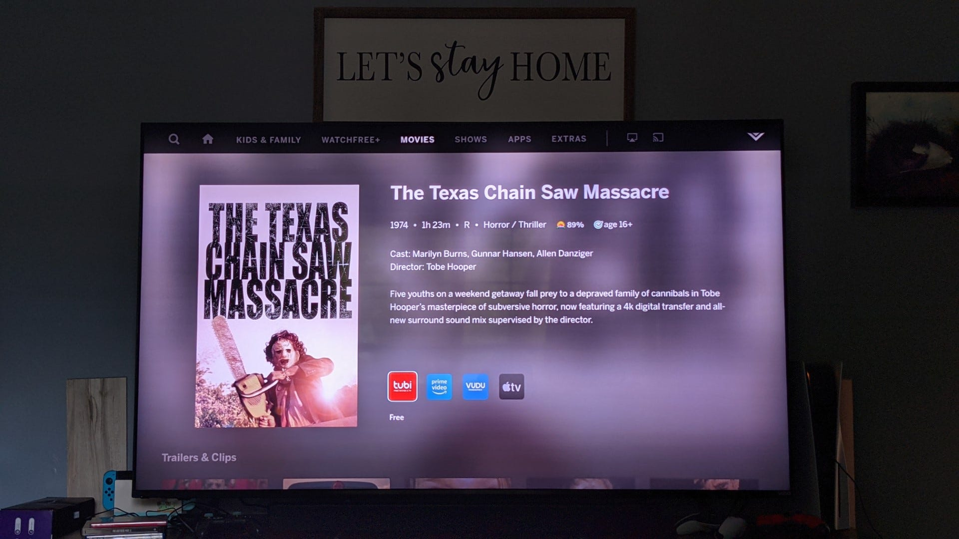 Thảm sát cưa máy ở Texas trên Smartcast