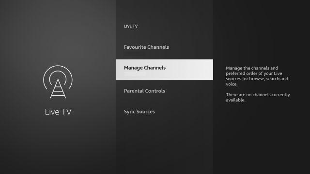 quản lý các kênh