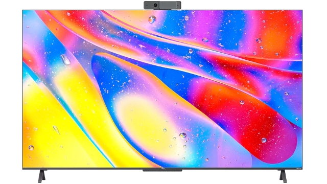 Cuộc gọi video TCL QLED 4K C725 Android 11 TV