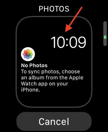 Đặt ảnh làm hình nền trên Apple Watch