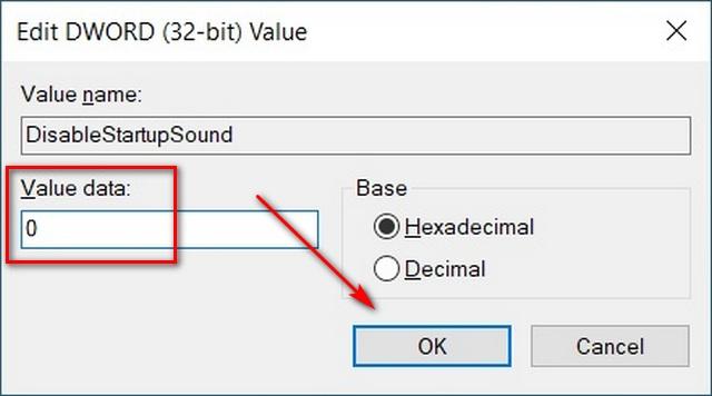 Cách bật âm thanh khởi động trong Windows 10