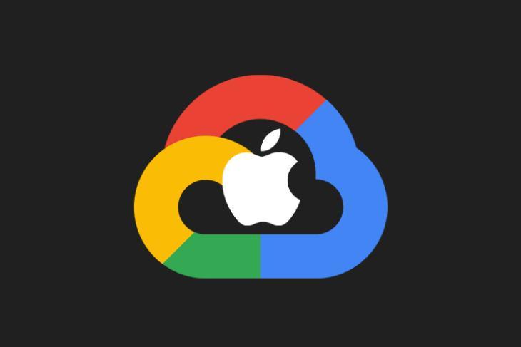 táo đang lưu trữ hơn 8 triệu tb dữ liệu icloud trên máy chủ google