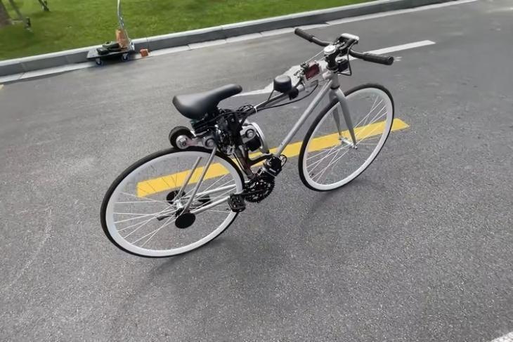 Chiếc xe đạp AI này do các kỹ sư Huawei chế tạo có thể tự lái