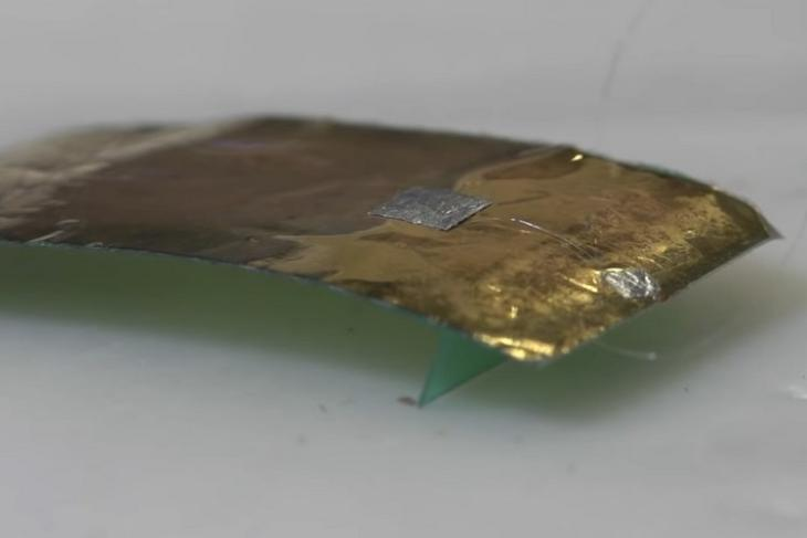 Các nhà nghiên cứu đã chế tạo một robot tí hon, lấy cảm hứng từ con gián