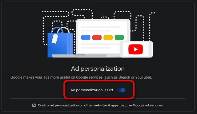 Cá nhân hóa Quảng cáo Google