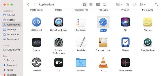 ứng dụng toàn cầu apple m1