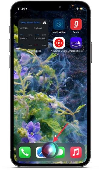 Gọi Siri trên Iphone