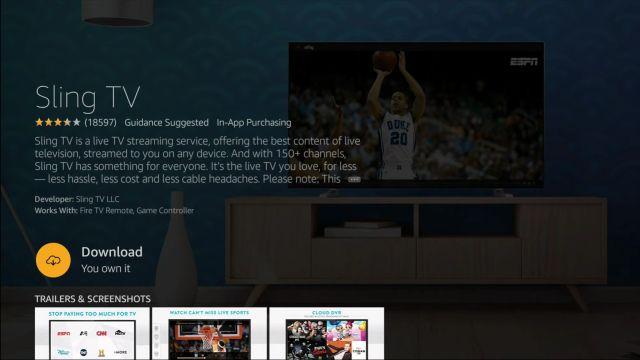 Thêm các kênh truyền hình trực tiếp miễn phí trên Fire TV Stick (2021)
