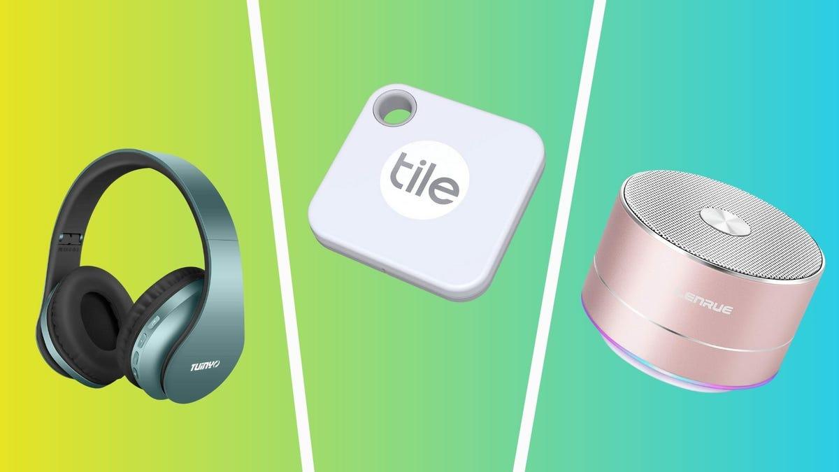 công nghệ tốt nhất dưới 25 đô la bao gồm tai nghe tuinyo ngói mate tracker và loa bluetooth lenrue