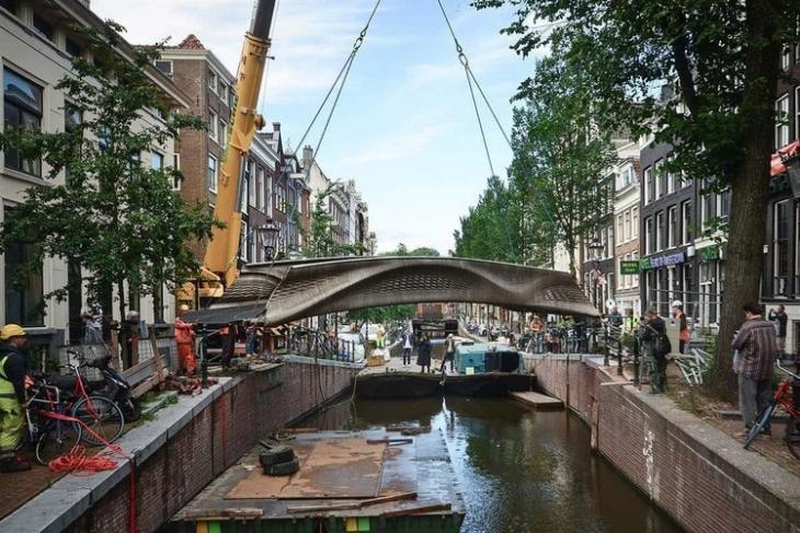 Cầu MX3D là cầu in 3D đầu tiên trên thế giới