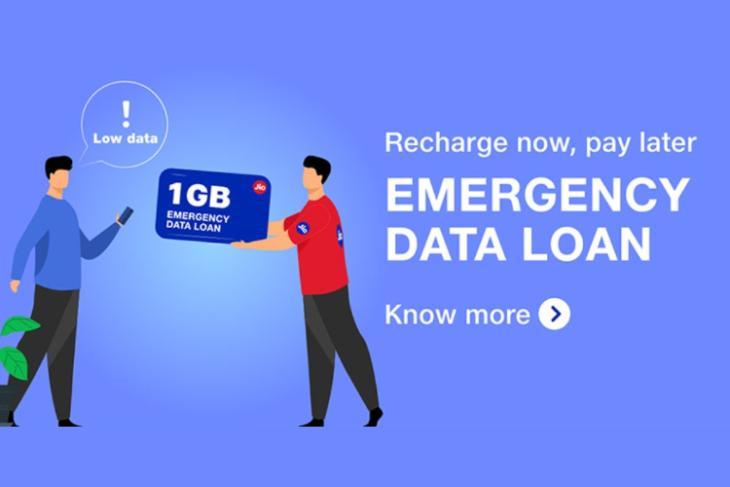 Khoản vay dữ liệu khẩn cấp Reliance Jio cung cấp dữ liệu 1GB cho Rs.11;  Đây là cách yêu cầu