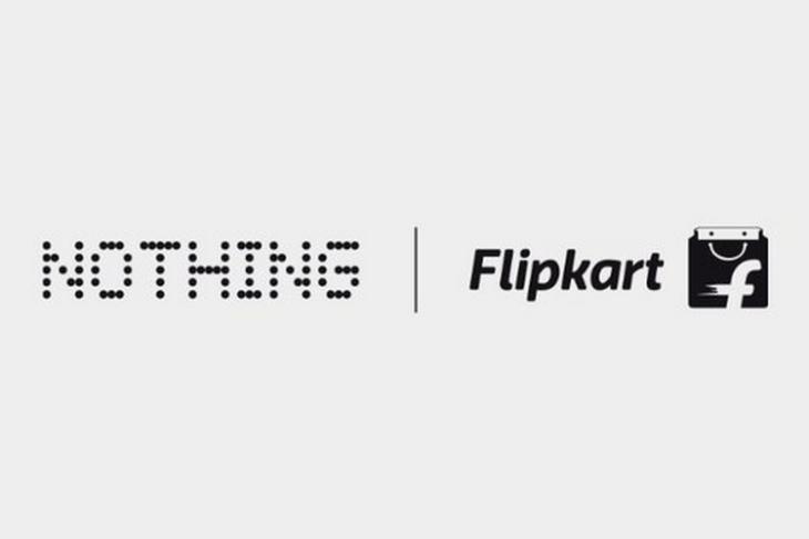 Không có gì Tai 1 trên Flipkart ở Ấn Độ