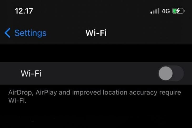 Lỗ hổng wi fi của iPhone vô hiệu hóa Wi Fi