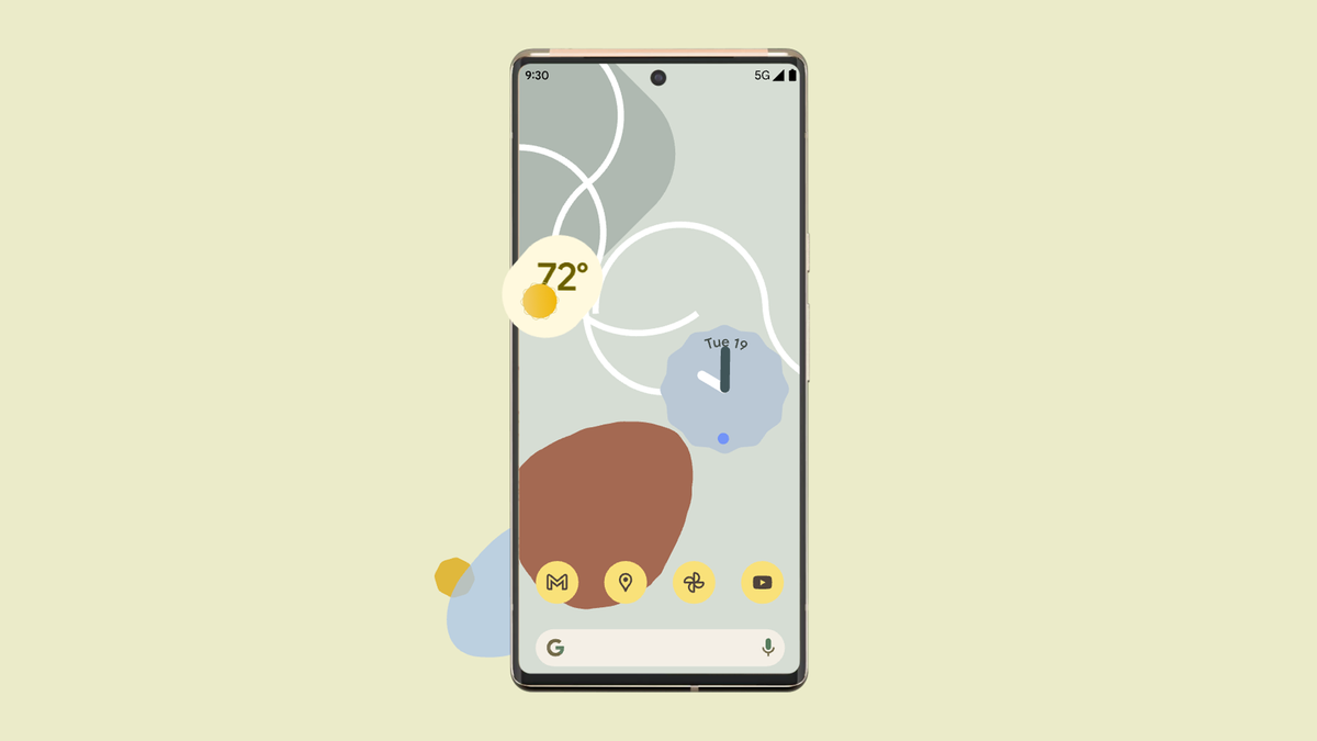 Hình minh họa về Pixel 6