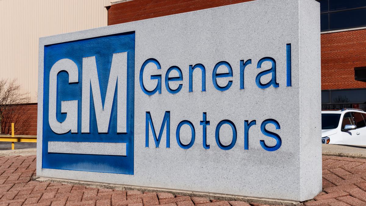 Biểu trưng và biển hiệu của General Motors tại Bộ phận chế tạo kim loại