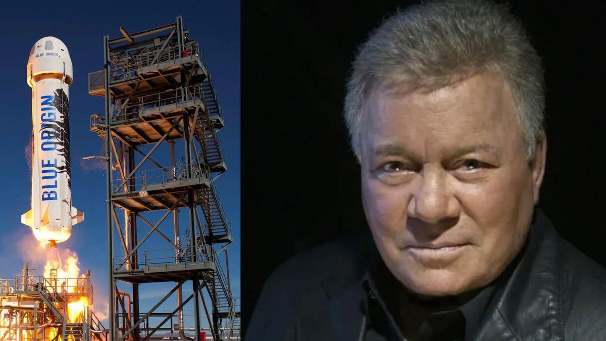 Tên lửa Blue Origin và William Shatner