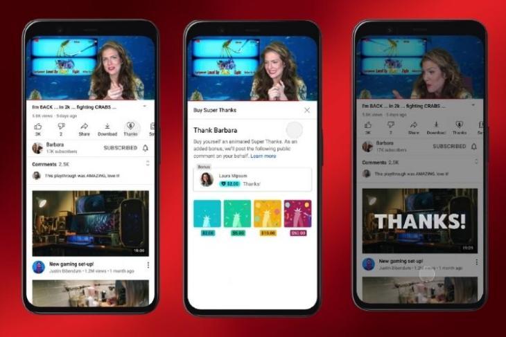 YouTube  Rolls Out Tính năng mới
